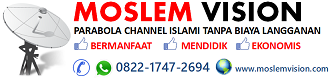 Parabola TV Islami Channel Rodja TV, Akhyar TV, Siaran Makkah, Yufid TV, TV Anak Muslim dan TV Islam lainnya